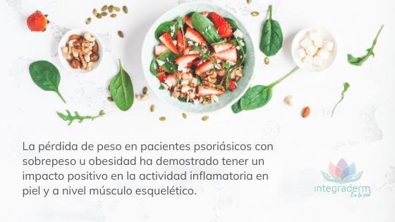 Influencia de la alimentacion en la dermatologia