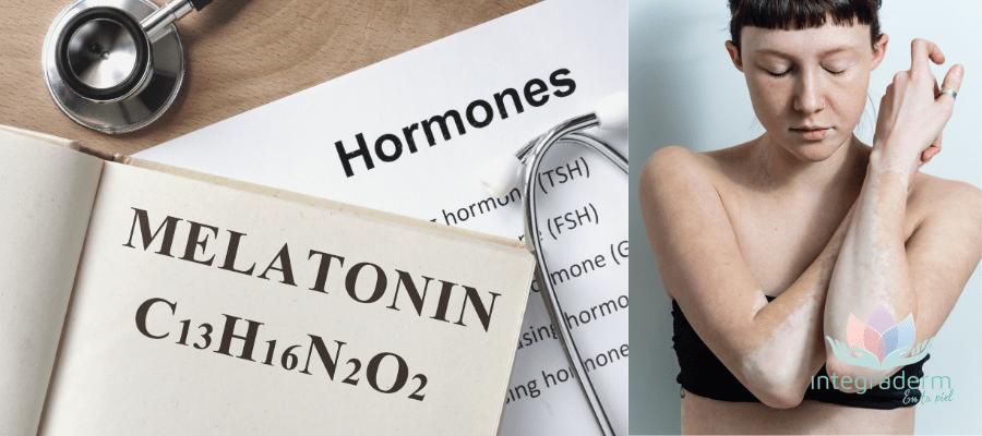 Beneficios de la melatonina en la piel, dermatologia y alimentacion